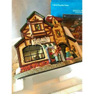 Santas Workbench Village Clockworks 2000